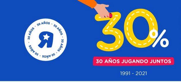 Ofertas 30 Aniversario Toysrus